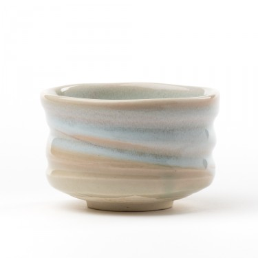 Hakayu' matcha tea bowl - White