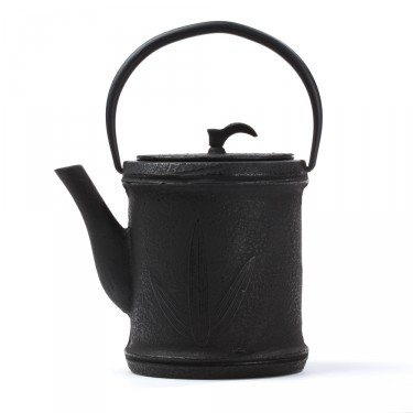 China cast iron teapot - Zhu 0,8L - black