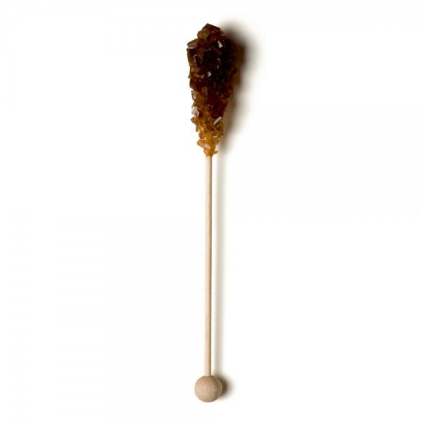 100 Brown sugar spoons - Length 16 cm