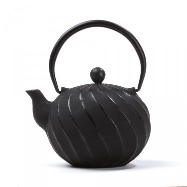China cast iron teapot - Cao 0,6 L - black