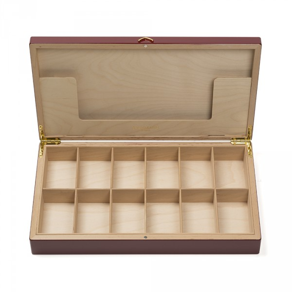 Coffret Palace vide, rouge