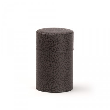 Leaves', Washi tea box - Black