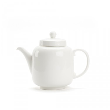 Porcelain teapot - BRUNCH 1L - White