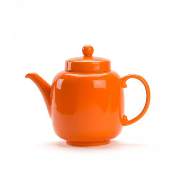 Théière Porcelaine - BRUNCH 1L - Orange