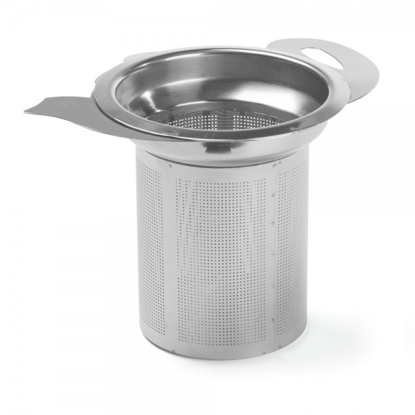 Silhouette' Stainless steel filter for teapot