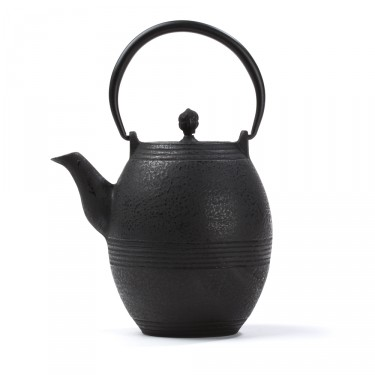 Chinese cast iron teapot - Jidan 0,8 L - black