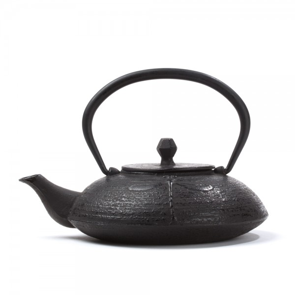 Chinese cast iron teapot - Libellule 0,6 L - black
