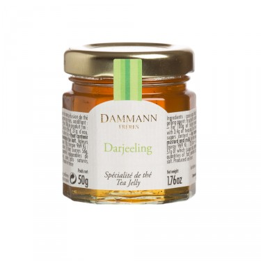 Darjeeling' tea jelly in mini jar