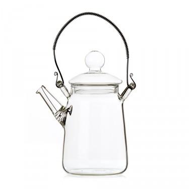 Glass teapot - 'Eclosion' teapot 0,3 L
