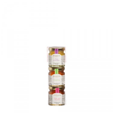 Set of 3 assorted tea jellies