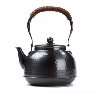 """Yakan"" copper plated sulfide finish kettle"