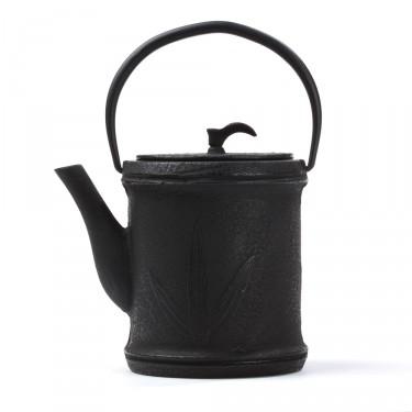 China cast iron teapot - Zhu 0,8L - black