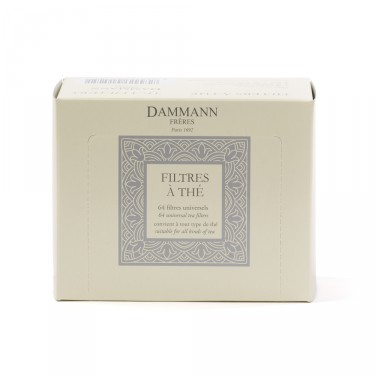 Box of 64 tea filters