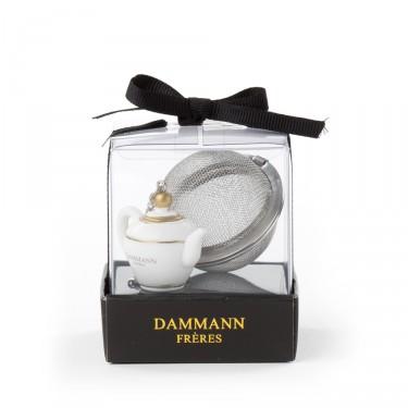 Boule à thé tamis ''Théière''
