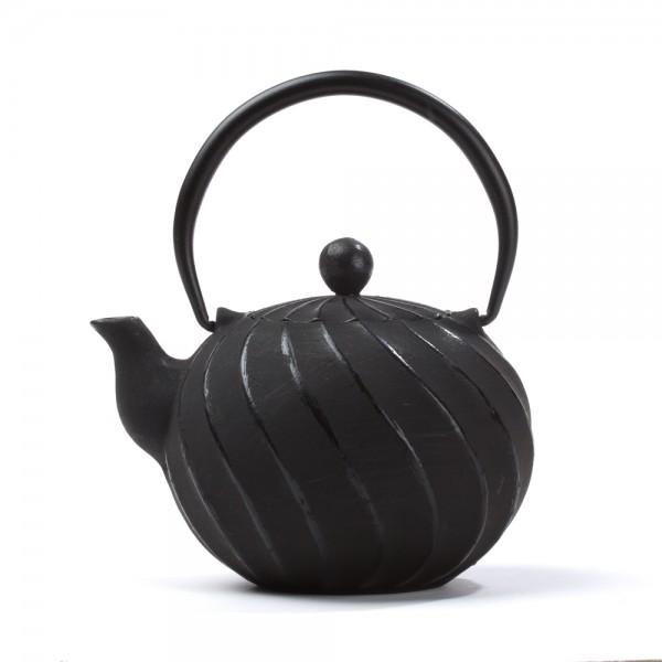 Théière Fonte de Chine - Cao Torsade 0.6L - Noire