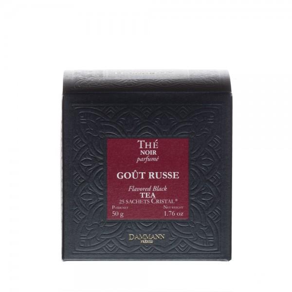 Goût Russe, box of 25 Cristal® sachets