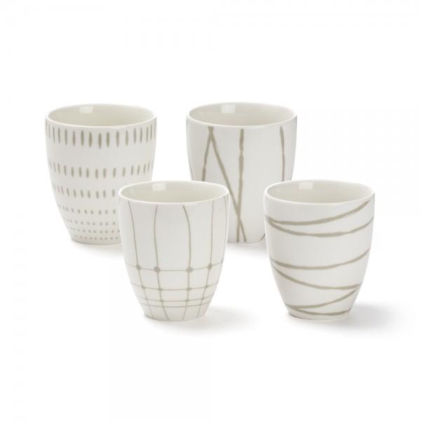 """""""Variation"""", bol à thé 30 cl, décors assortis / 30 cl tea bowl assorted patterns"""