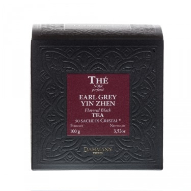 Earl Grey Yin Zhen, box of 50   Cristal® sachets