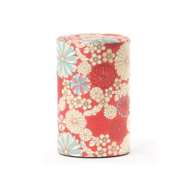 Fleurs' - Washi tea box