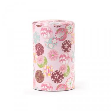 Boîte à thé Washi ''Kimono''