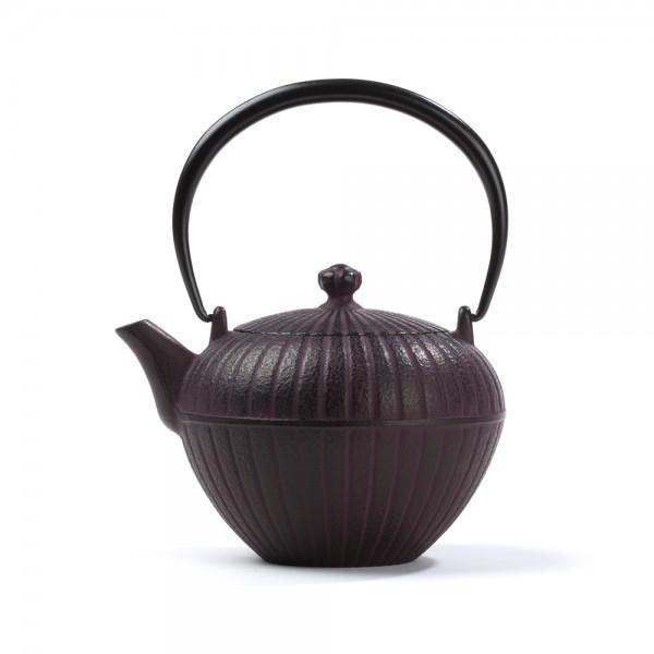 Japanese cast iron teapot - Chakatake 0,55 L - Burgundy
