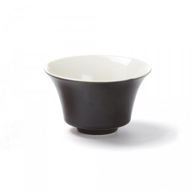 Color' black porcelain tea bowl, 12,5  cl