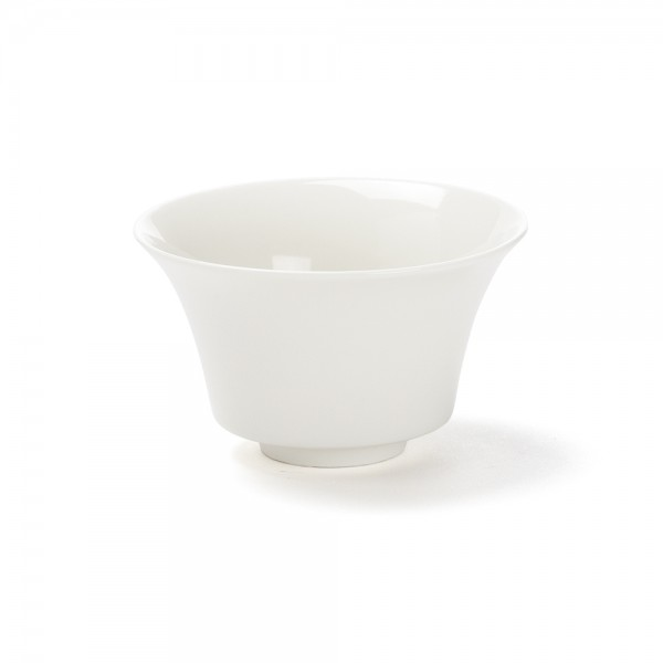 Color' white porcelain tea bowl, 12,5  cl