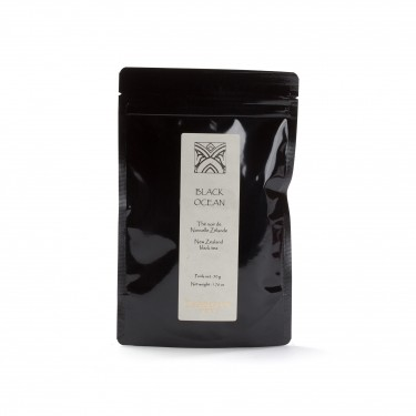 Tea from New-Zealand - Black Ocean - pouch of 50 g