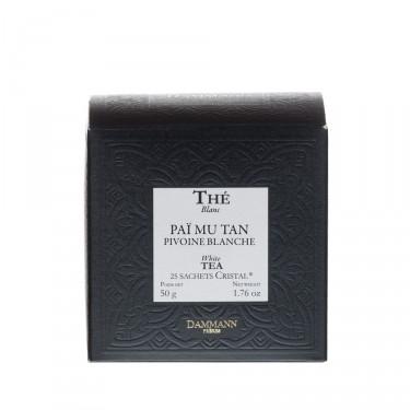 Pivoine blanche, box of 25 Cristal® sachets