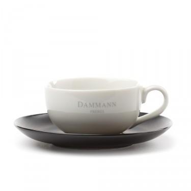 Dammann Frères tea cup & saucer