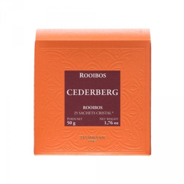 Rooibos Cederberg, box of 25 Cristal® sachets