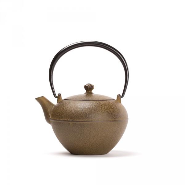 Japanese cast iron teapot -SUIKA 0,55L - Brown