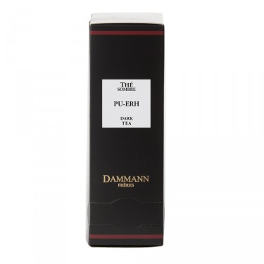Dark tea PU-ERH, box of 24 enveloped Cristal® sachets