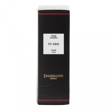 Dark tea PU-ERH, box of 24 enveloped Cristal® sachets