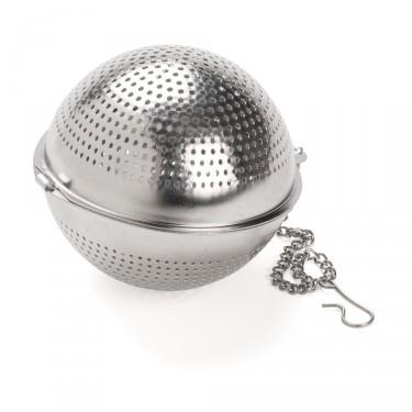 Boule à thé ronde inox perforé  - DIAM. 6,5 cm
