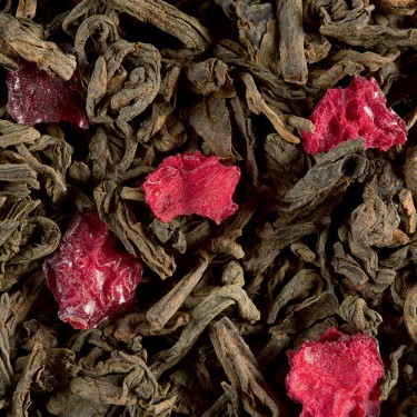 Thé Sombre - PU-ERH FRUITS ROUGES