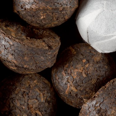 Tea from China - Pu-Erh Menghaï ripe Tuocha