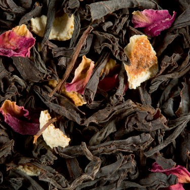 Thé Noir - CITRON-CAVIAR ROSE
