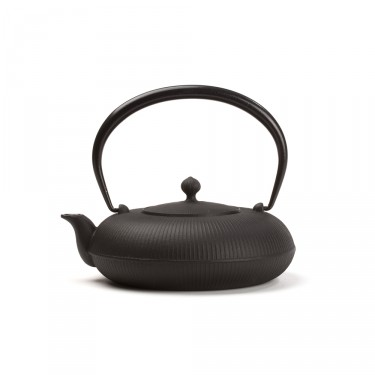 Japanese cast iron teapot - SHIZUKA 0,7 L - Black