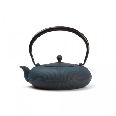Japanese cast iron teapot - SHIZUKA 0,7 L - Blue