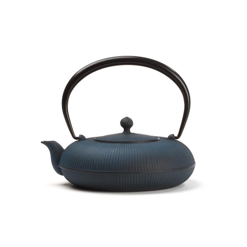 th i re fonte du japon shizuka 0 7 l bleue. Black Bedroom Furniture Sets. Home Design Ideas