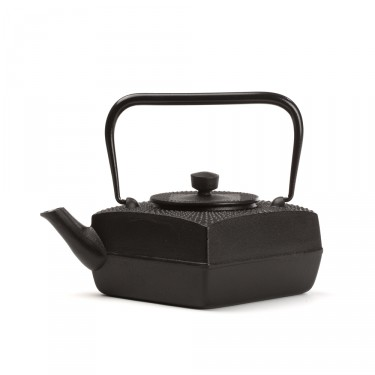 Japanese cast iron teapot - SÖSU 0,5 L - black