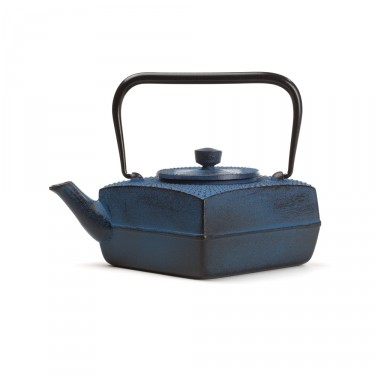 Japanese cast iron teapot - SÖSU 0,5 L - Blue