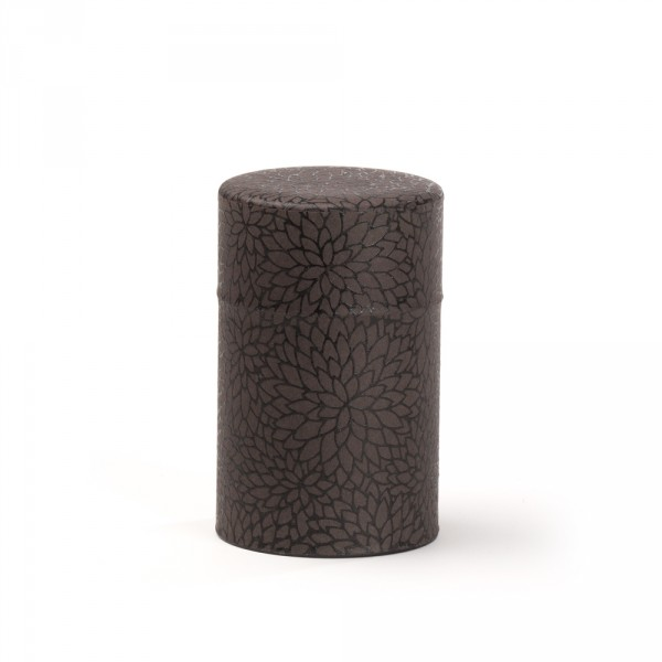 Fleurs', Washi tea box - Black