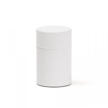 Leaves', Washi tea box - White