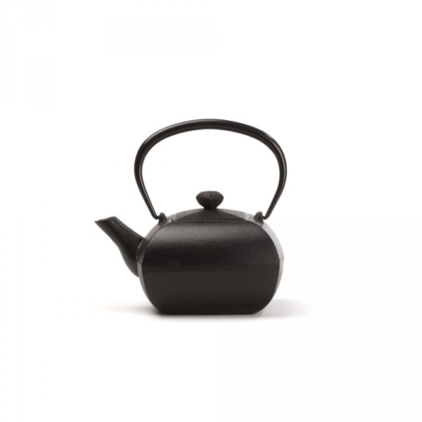 Japanese cast iron teapot - KANWA 0,4 L - Black