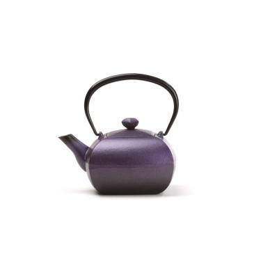 Japanese cast iron teapot - KANWA 0,4 L - Purple