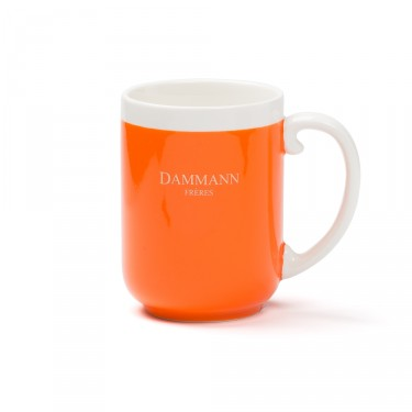 AFTERNOON -porcelain mug - ORANGE