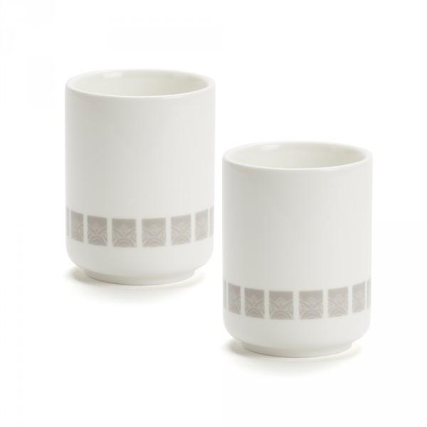 LOBBY - SET of 2 bowls - grey pattern