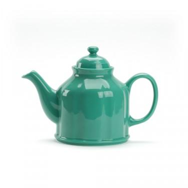 Porcelain teapot - CAMPAGNE 1.3 L - Green
